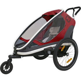 Hamax Outback One Bike Trailer grey/red